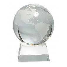 Crystal Globe with Base